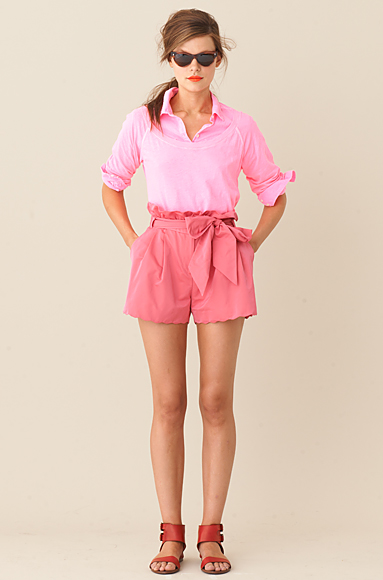 Obsessed: J Crew's Electric Pink Spring Hue