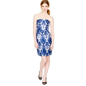 J. Crew Marla Dress in Printed Silk