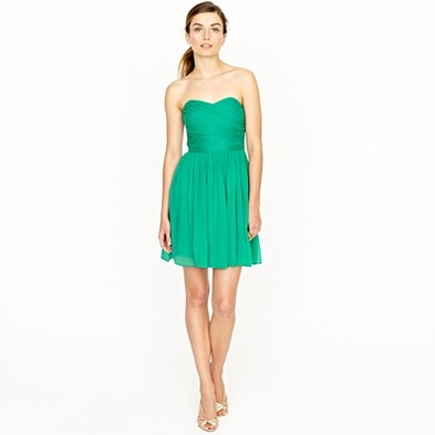 J. Crew Arabelle Dress in Silk Chiffon