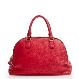 J. Crew Leather Handbag Biennial Satchel in Flame