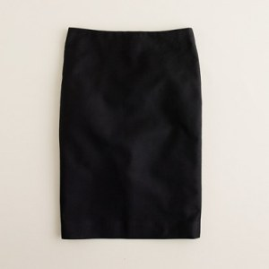 J. Crew No. 2 Pencil Skirt Black
