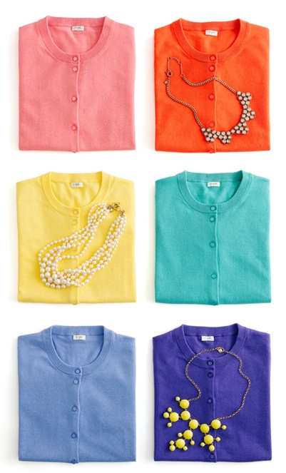 J. Crew Jackie Cardis in Every Color