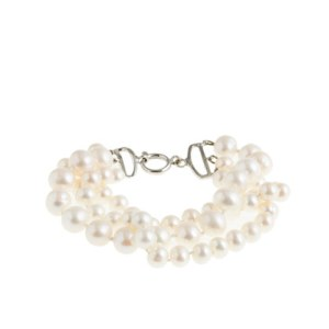 Collection Twisted Triple Pearl Bracelet J. Crew