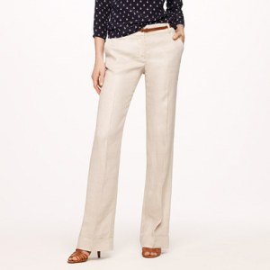 Cafe Trouser in Linen  - J. Crew Review