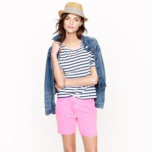 J. Crew Chino Shorts - Pink