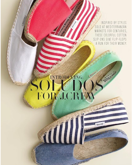 Soludos for J. Crew