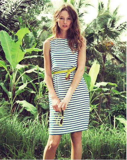 J. Crew Review Nautical Striped Dress