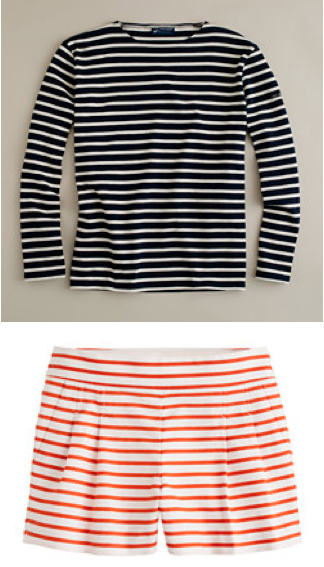 J. Crew Review Stipes, Nautical, St. James Tee