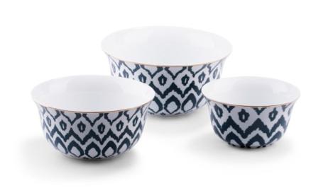 Ikat Nesting Bowls via C. Wonder