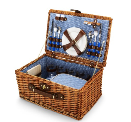 C. Wonder Wicker Picnic Basket Set